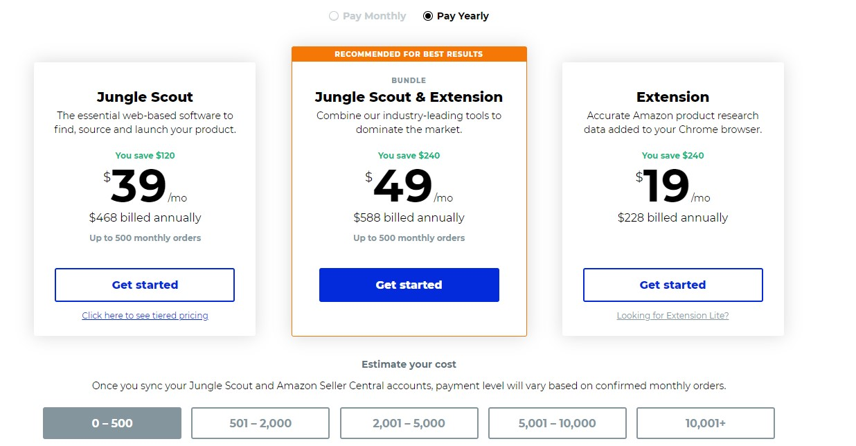 jungle scout pricing annual plan