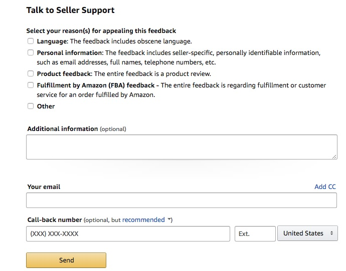 amazon feedback manager