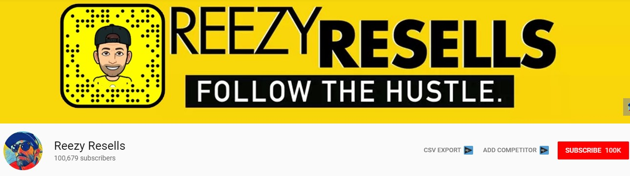 reezy resells youtube