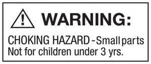 amazon warning label