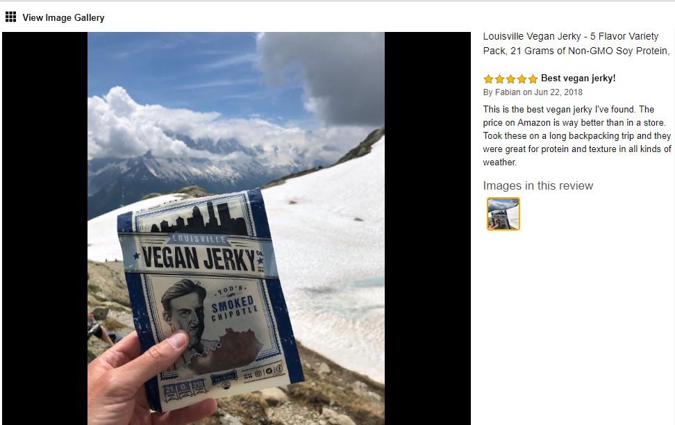 vegan jerky amazon review