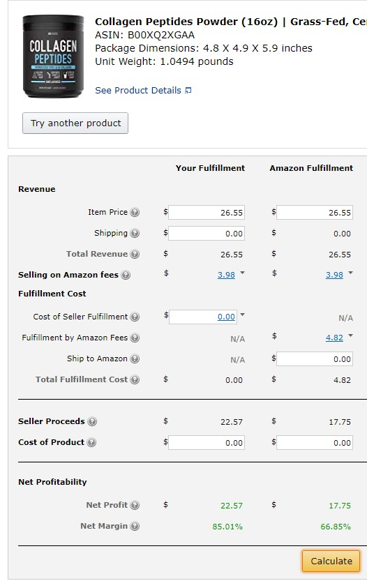 comparing amazon and shopify fees