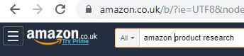 amazon product research