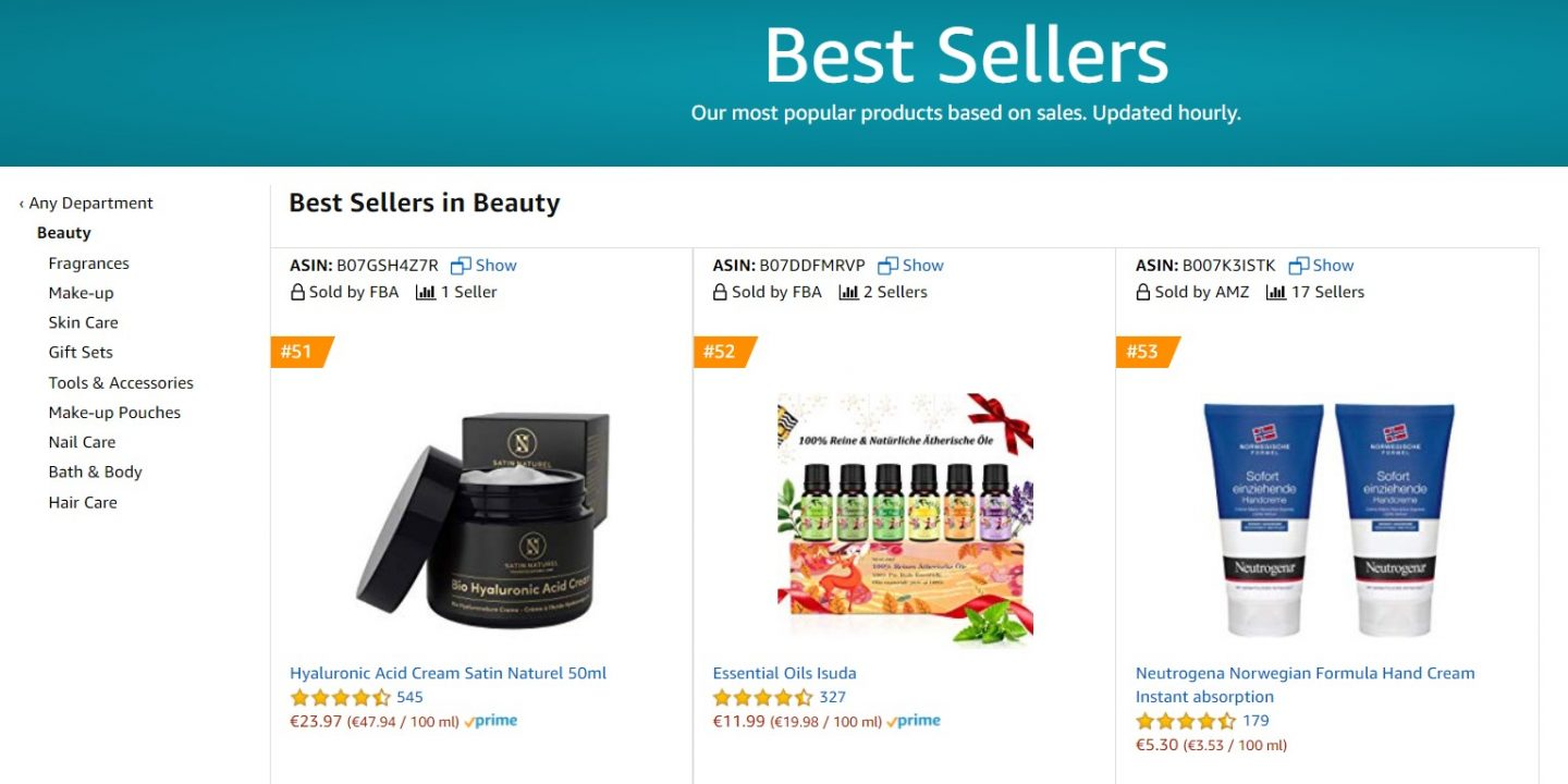 amazon germany beauty best sellers