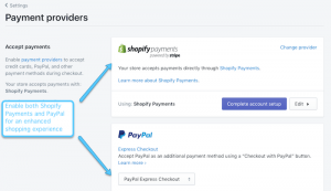 how does shopify pay you