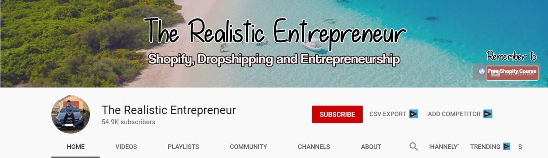 realistic entrepreneur youtube
