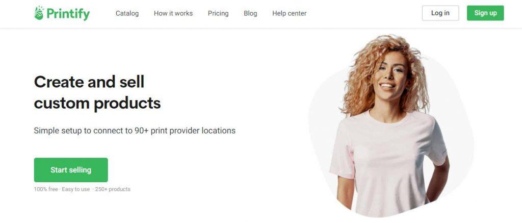 Printify Print on Demand App Shopify