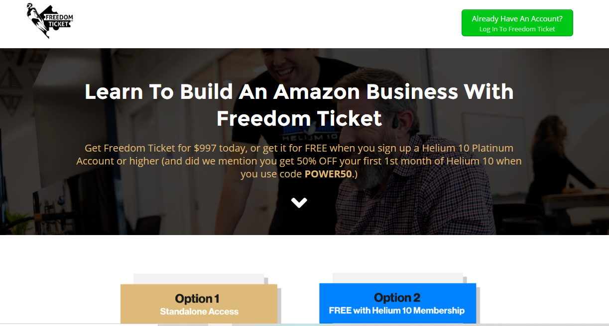 Freedom Ticket Course BY Kevin King
