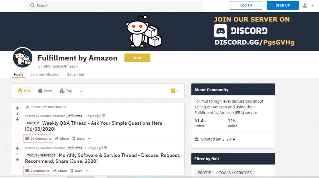 Fulfillment by Amazon Reddit_Amazon Seller Forums