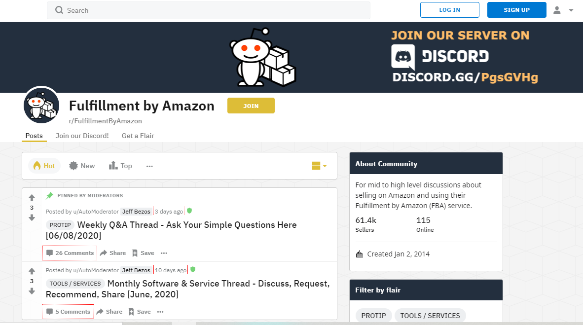 Fulfillment by Amazon Reddit_Amazon Seller Forums