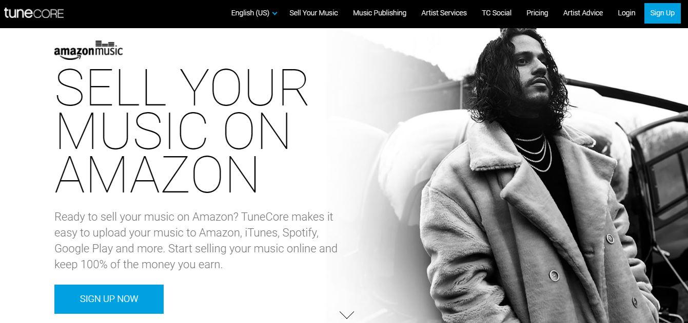 TuneCore on Amazon