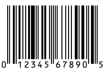 UPC Code sample