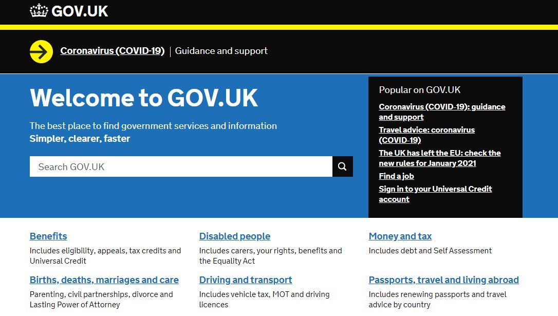 VAT Registration on Gov.UK Website