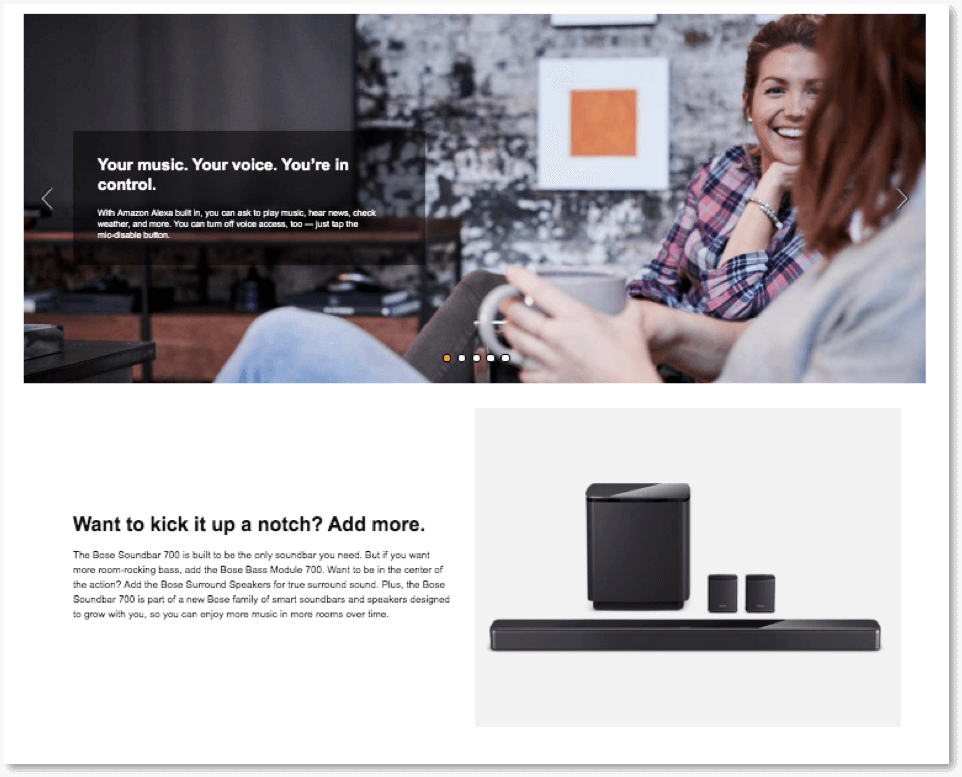 Amazon EBC Page