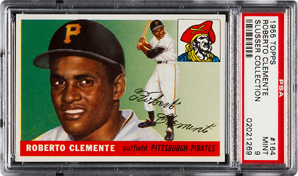Roberto Clemente 1955 Topps Rookie Card