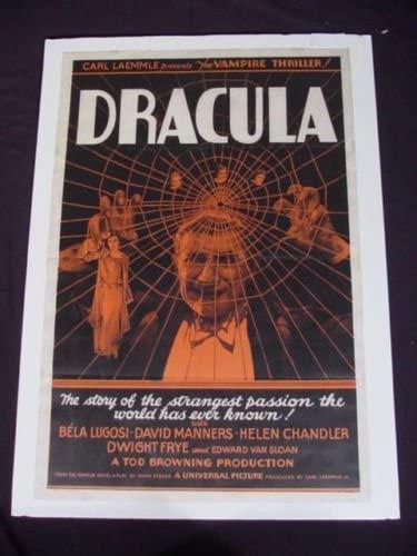 Original Dracula 1931 Movie Poster