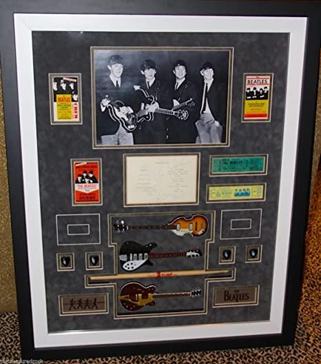 Beatles Memorabilia Case with DNA