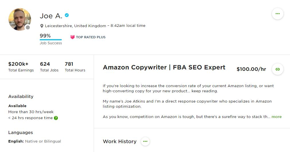 Senior Amazon Copywriter