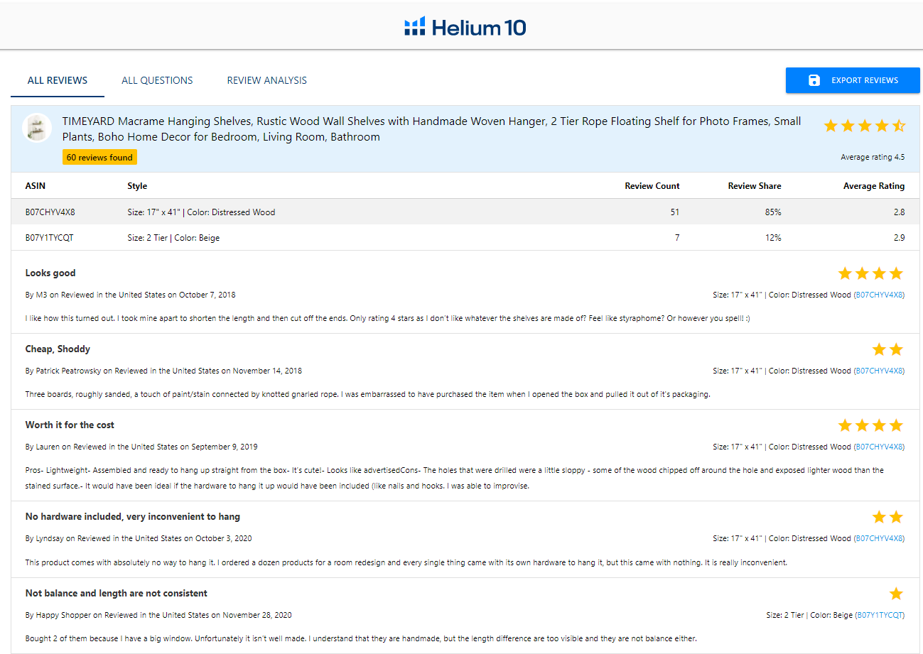 helium 10 download reviews