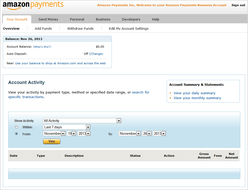 amazon seller payment schedule