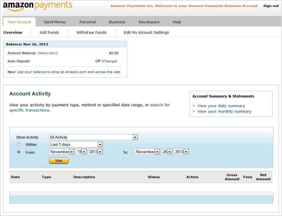 amazon seller payment schedule