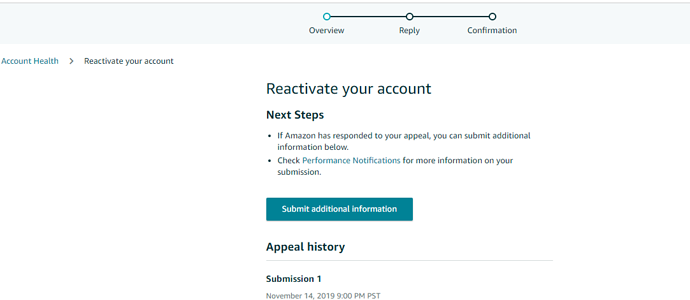 How to Reactivate your Amazon Seller Account