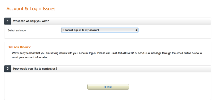how to unlock your Amazon account