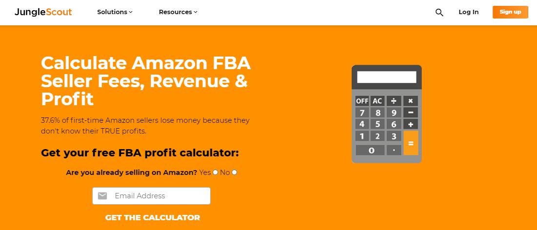 Jungle Scout FBA Calculator