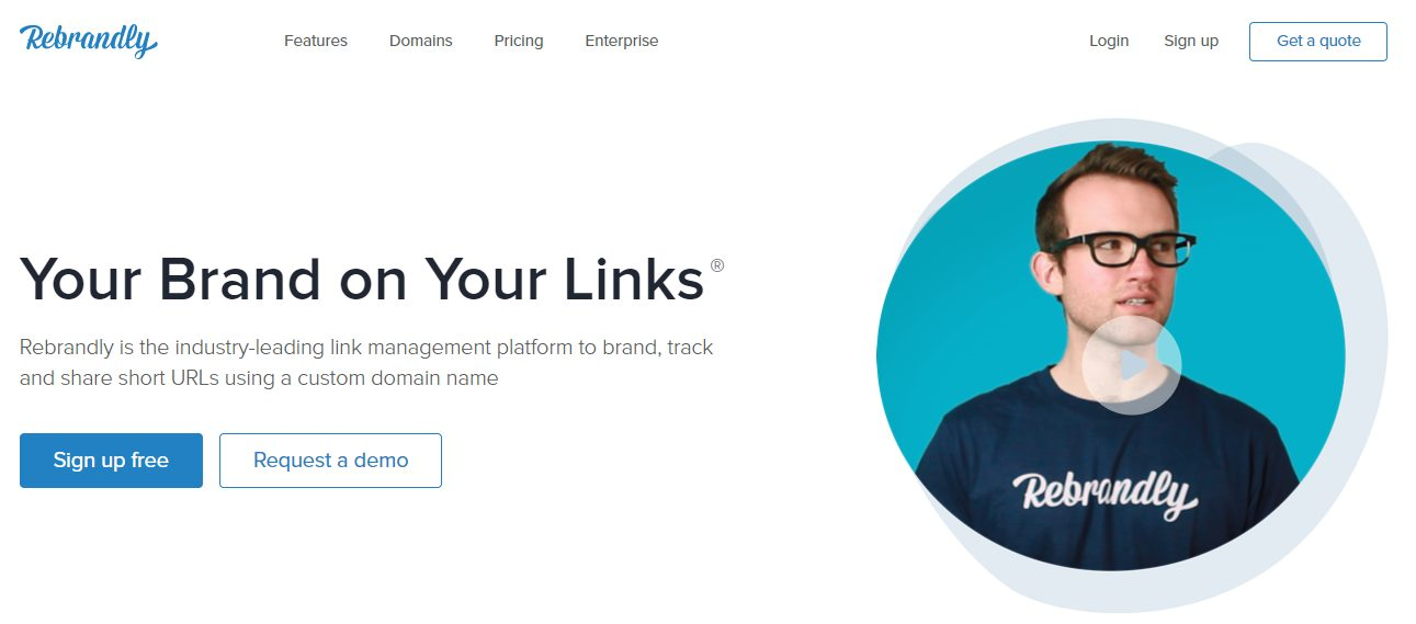Rebrandly to Shorten Amazon Links