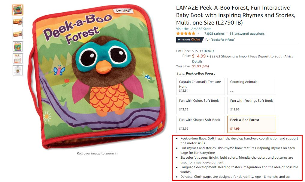 How to Create a Listing on Amazon with Bullet Points